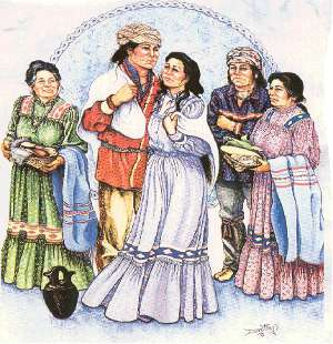 Ancient Cherokee Marriage Tradition